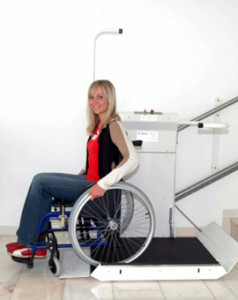 wheelchair lift safety features