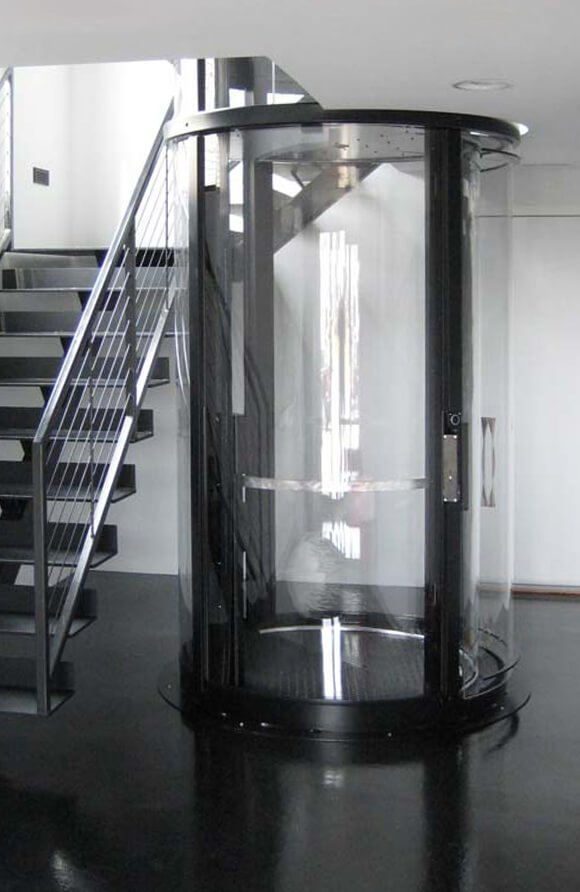 100 Glass Residential Elevator Glass Residential