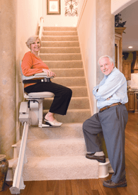 Indy Lux Residential Stair Lift