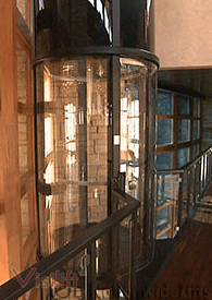 Visilift<sup>TM</sup> Round  Home Elevator