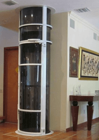 Pneumatic Residential Home Elevator Vision 350